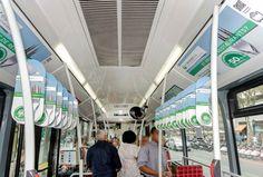 """Campaña de """" El Tenedor """" con  la app Holaapp de Realidad Aumentada para el interior de Metro y Autobús de Barcelona y Madrid , permitiendo la interacción con las publicidades, accediendo a contenidos espectaculares."""