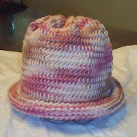 6b191c9f2388a2 Lots of Crochet Stitches by M. J. Joachim: Rectangle Hat Pattern Basics ~  free pattern Crochet