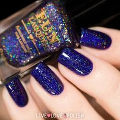 Swatch of Fun Lacquer City Lights Nail Polish (Midnight In Manhattan Collection)