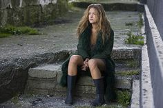 loved this green coat in Ondine! And the whole look of a dress, wellies, and a coat John William Waterhouse, My Life Style, My Style, Free Photos, Cool Photos, Ondine, Art Sites, Green Coat