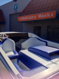 We sell foam in Northern Beaches to suit your marine application. We cut foam to any size and customized for your marine upholstery in Northern Beaches. Boat Upholstery, Boat Seats, Marine Boat, Boat Stuff, Boating, Las Vegas, Cruise, Layout, Craft
