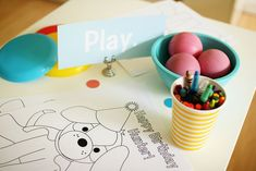 Hank and Hunt - HOME - PUPPY PARTY & FREE PRINTABLES... coloring for little kids