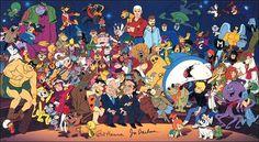 Super-powered Hanna-Barbera Cartoon Characters
