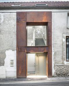 Architecture France, Architecture Renovation, Facade Architecture, Contemporary Architecture, Ancient Architecture, Sustainable Architecture, Landscape Architecture, Facade Design, Exterior Design