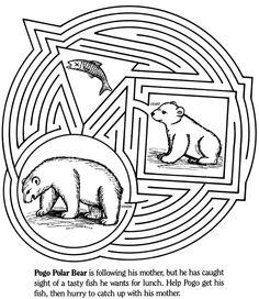 fish and bear maze