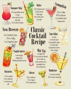 Classic Cocktail Rec