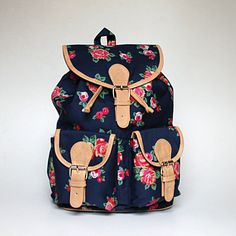 Hey, I found this really awesome Etsy listing at http://www.etsy.com/listing/153363273/blue-floral-backpack