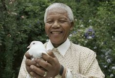 """""""I learned that courage was not the absence of fear, but the triumph over it."""" ~ Nelson Mandela (1918-2013)"""