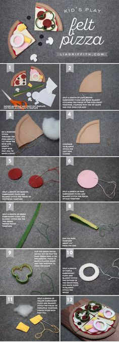 felt_Pizza_tutorial More More