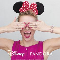 Rockin' dots + red bow = Minnie Mouse inspired style. #DisneyAndPANDORA