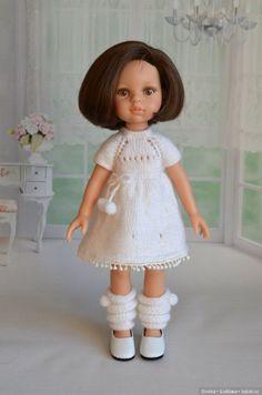 Белая коллекция / Paola Reina, Antonio Juan и другие испанские куклы / Бэйбики. Куклы фото. Одежда для кукол