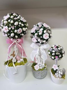 Dollar Store Crafts, Diy Home Crafts, Easter Wreaths, Easter Crafts, Floral Arrangements, Box, Handmade, Inspiration, Xmas