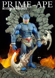 Prime-Ape (MOTUC Original) (Masters of the Universe) Custom Action Figure