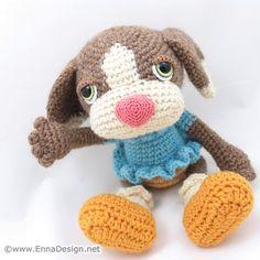 Crochet Amigurumi Dog Art Doll | Flickr - Photo Sharing!