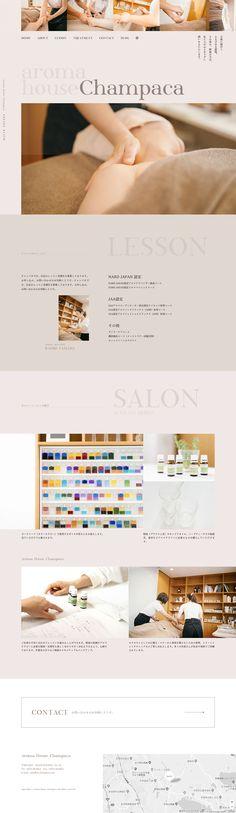 Web ah-champaca.com Interactive Media, Art Direction, Salons, Web Design, Branding, Inspiration, Poster, Lounges, Design Web