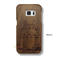 Galaxy S7 Totoro Case - Samsung Galaxy S7 Solid Total Wood Case - SDTRE0066