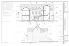 West Beach Residence — Kenneth Wiland ARCHITECT Architect Jobs, Architectural Services, Architectural Drawings, Three Oaks, Modern Exterior House Designs, Johns Island, Elevation Plan, Permanent Residence, Kitchen Cabinet Design