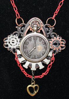 SOLD!!   Steampunk necklace