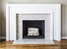 Ask Maria: Should my Fireplace Surround be Subway? | Maria Killam | True Colour Expert | Decorator Maria prefers smaller tile on a surround