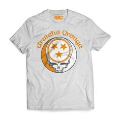The Grateful Orange T-shirt now available for purchase online at www.gboapparel.com #gratefuldead #UTK #butchjones #VFL #GBO #Tennesee #Tennesseegear