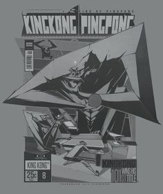 KING KONG PING PONG on Behance