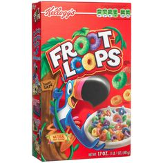 Kellogg's Fruit Loops Cereal 17 oz