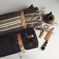 """""""BKc Holiday 2013: Great gift idea & great shot of Poglia Blankets & Knives. Now available at The Brooklyn Circus NYc. #adventure #manwhohaseverything…"""""""