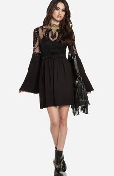 Check out Gjelina Gem at DailyLook love the bell sleeves. Statement piece