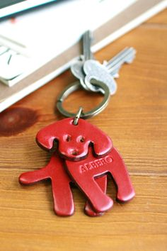Cute animal keychains, simple execution