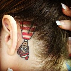 15 Body Parts for Girls to Get Tattoos - Wormhole Tattoo 丨 Tattoo Kits, Tattoo machines, Tattoo supplies Incredible Tattoos, Great Tattoos, Beautiful Tattoos, Body Art Tattoos, Tatoos, Awesome Tattoos, Piercings, Piercing Tattoo, Funny Tattoos
