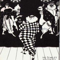 Scarlet Pastorale Aubrey Beardsley Theatrical by SurrenderDorothy