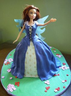 Fairy Princess Doll Cake