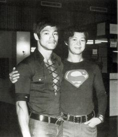 Bruce Lee and his best friend