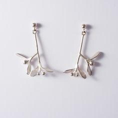 Silver good luck earrings by APRIL jewellery. www.nakit-april.eu