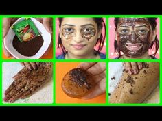 Skin Whitening With Coffee Facial   Get Spotless-Radiant-Milky Whiten Skin Permanently (100% Result) - YouTube