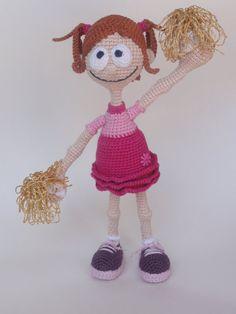 Pompom Polly Amigurumi Crochet Pattern von IlDikko auf Etsy