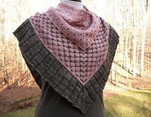 Faberge, a new knit pattern. I love it!