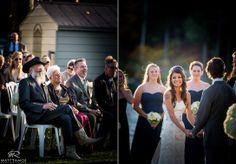 Wedding Ceremony | Lake | Outdoor Ceremony | Wedding Day | Crooked Lake House | Country Wedding | Bride & Groom | Love | Fall Wedding © Matt Ramos Photography