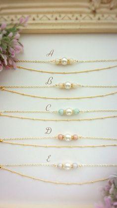 *送料無料*Triple pearl bracelet