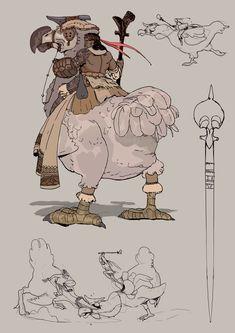 ArtStation - Dodo rider, Victorin Ripert