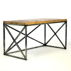 Materials as inspiration for banister to third floor? Reclaimed wood and weathered metal?