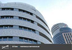 Sistemas de Fachadas | Edificio residencial Oxigen con fachada metálica perforada | http://sistemasdefachadas.com