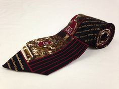 BUGATCHI UOMO 60L Mens Neck Tie Michael Jordan 23 Basketball Red Black Silk #BugatchiUomo #Ties #NeckTies