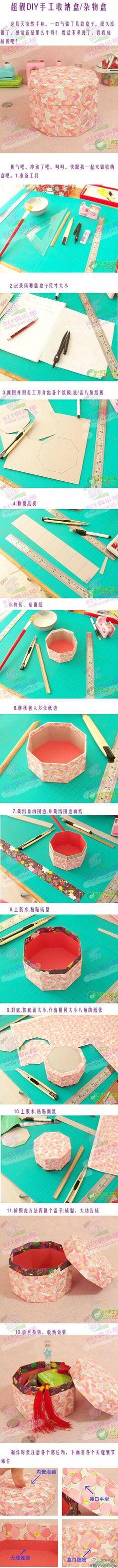 cute DIY paper box
