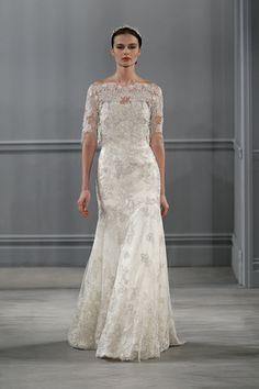 Monique Lhuillier Spring 2014 Bridal