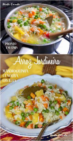 Real Food Recipes, Veggie Recipes, Vegetarian Recipes, Healthy Recipes, Portuguese Recipes, Food Goals, Easy Cooking, Going Vegan, Food Inspiration