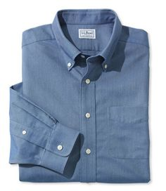 Wrinkle-Free Classic Oxford Cloth Shirt, Traditional Fit - LL Bean Intl