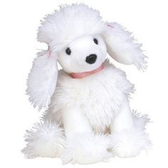 b77ed9a25f9 TY Beanie Baby - L AMORE the Poodle Dog (6 inch). BBToyStore.com - Toys ...