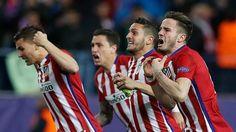 Atlético-PSV - El Atlético se mete en cuartos con sufrimiento