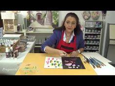 One Stroke Painting, Painting Videos, Mason Jar Art, Fabric Painting, Brush Strokes, Youtube, Mixed Media, Painting Tutorials, Craft
